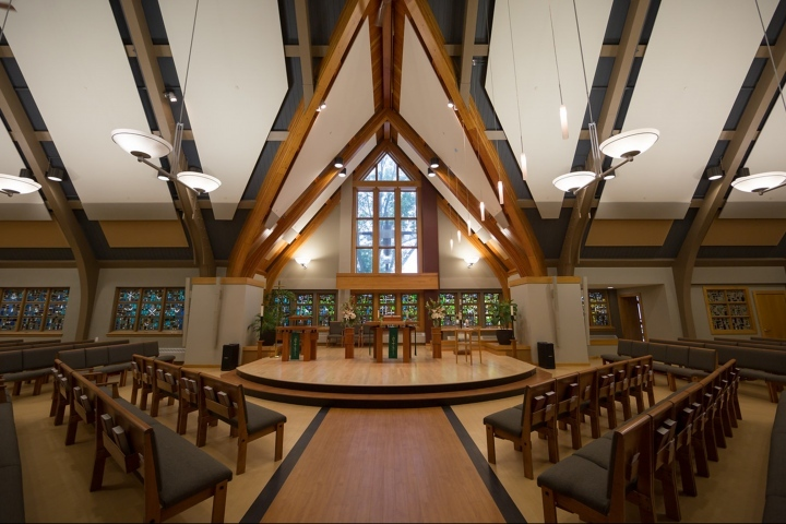 Midvale Community Lutheran Church by Ron Lutz