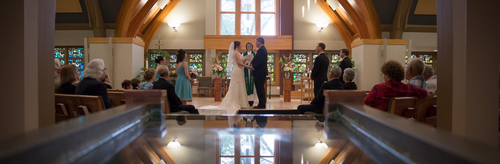 Madison WI Wedding at Midvale Community Lutheran Church